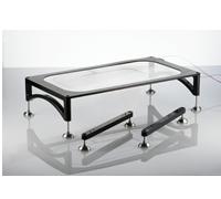 Mesa de vidrio calefactada -
