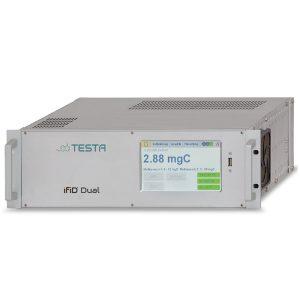 Analizador de hidrocarburos portátil iFID Dual