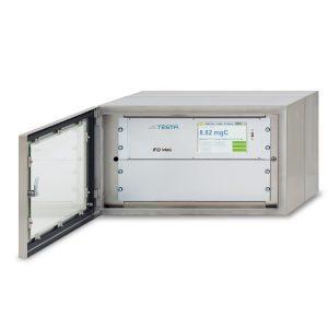 Analizador de hidrocarburos portátil iFID Wall