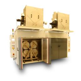 Hornos industriales para secado, curado y post curado CALDATRAC
